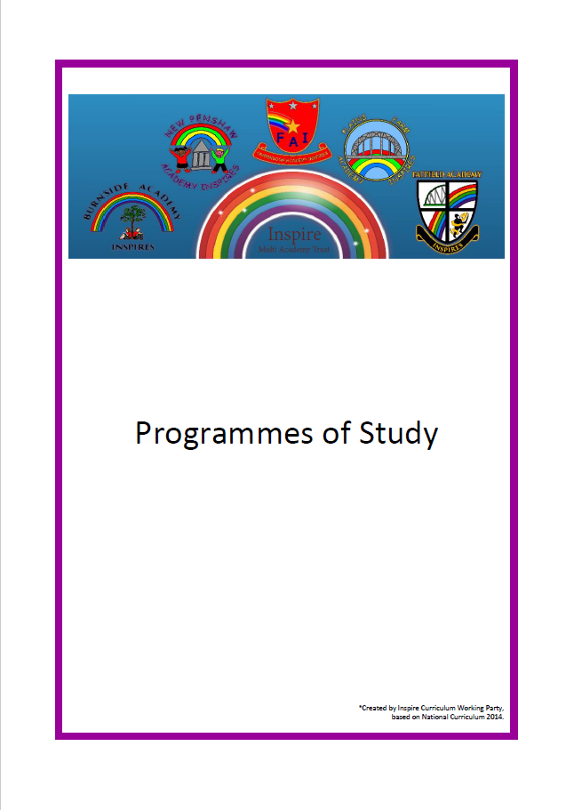 Year 1 Programme of study